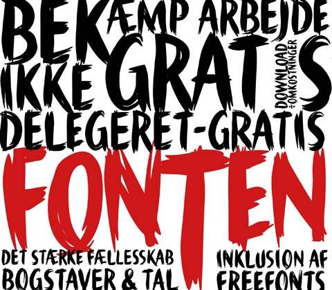 Delegeret Gratis Font